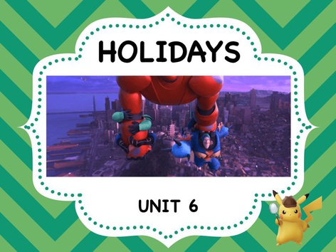 HOLIDAYS - Vocabulary by ShowAnd Text