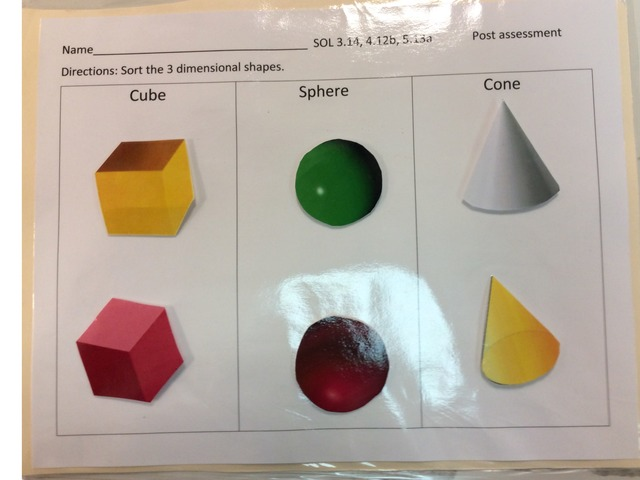 Sorting 3D Shapes by Catrina Froehler
