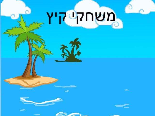 משחק קיץ by יעל שטרן עובדיה
