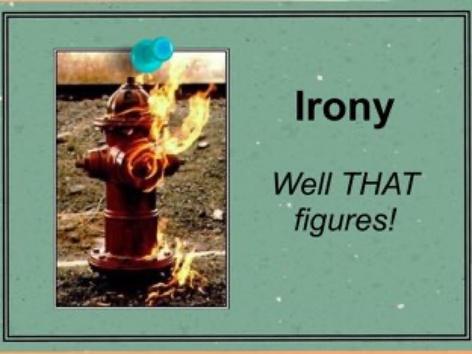Irony by Ellen Weber