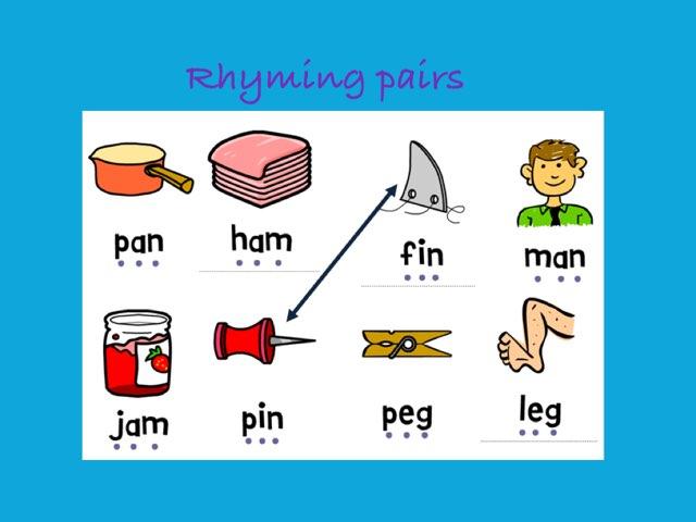 Rhyming Pairs by Deborah Fletcher