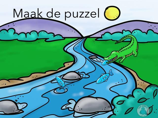 Maak De Puzzel by Chris Batenburg