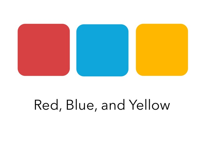 Red, Blue, And Yellow by Lori Board