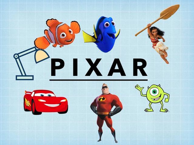 Pixar by Caleb Brentzel
