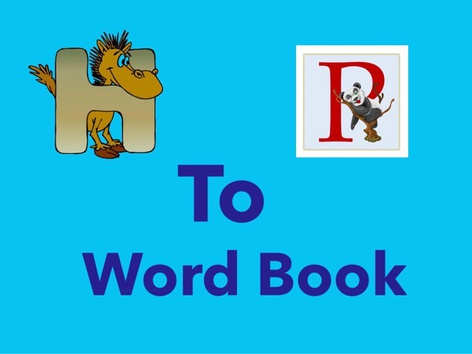 H To P (Word Book) by Carol Smith