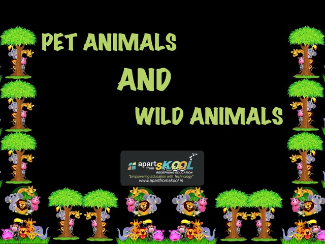 Pet And Wild Animal  by TinyTap creator