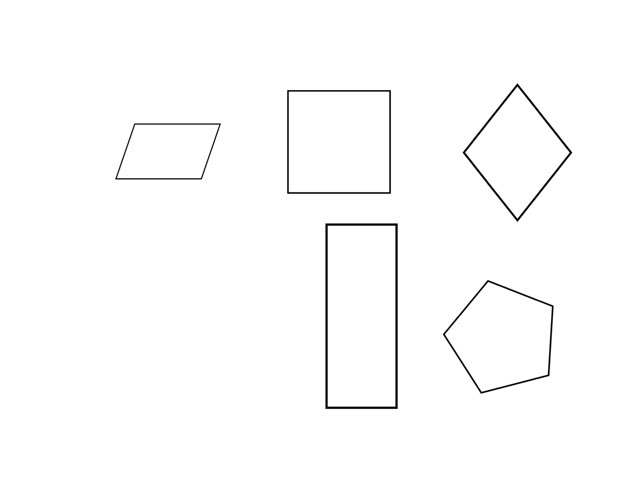 Quadrilaterals by Frances Chapin