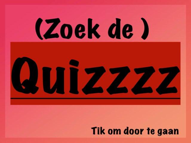 (Zoek De) Quizzzz by Alwin Knijp