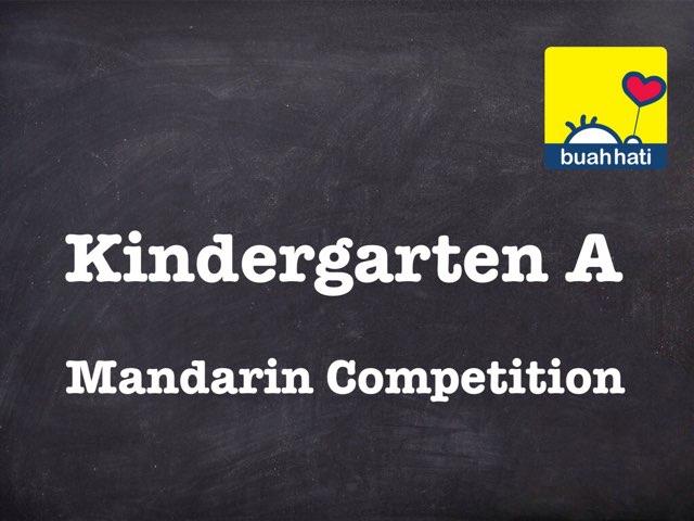 Mandarin KG A Competition by Gundala Petir