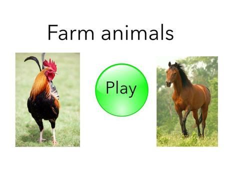 Farm Animals English (uk) by