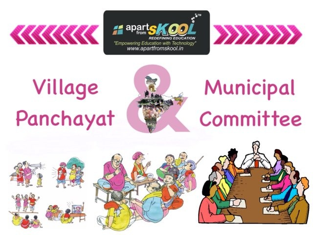 Village Panchayat And Municipal Committee by TinyTap creator