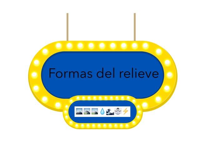 Formas Del Relieve by Alvaro Camarero
