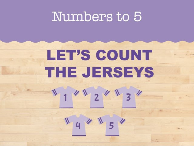 Let's Count The Jerseys by Miss Humblebee