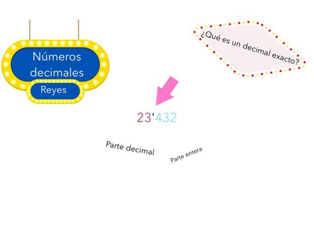 Números Decimales by Reyes Fernández Vázquez