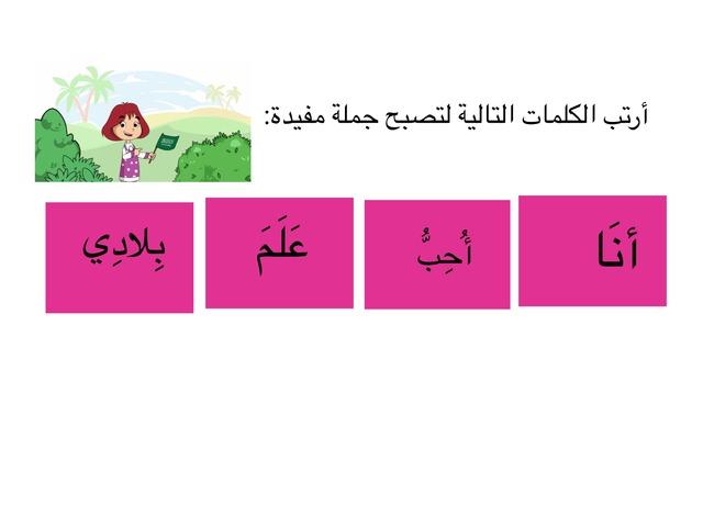 علم بلادي الصف  الثاني  by أم عبدالمحسن