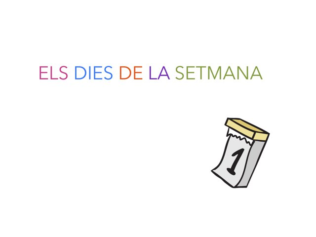 Dies de la setmana by Eli Pacheco