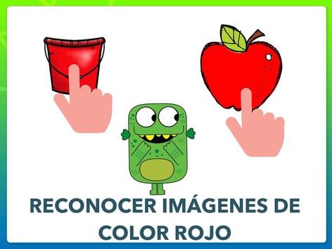 RECONOCER IMÁGENES DE COLOR ROJO by Jose Sanchez Ureña