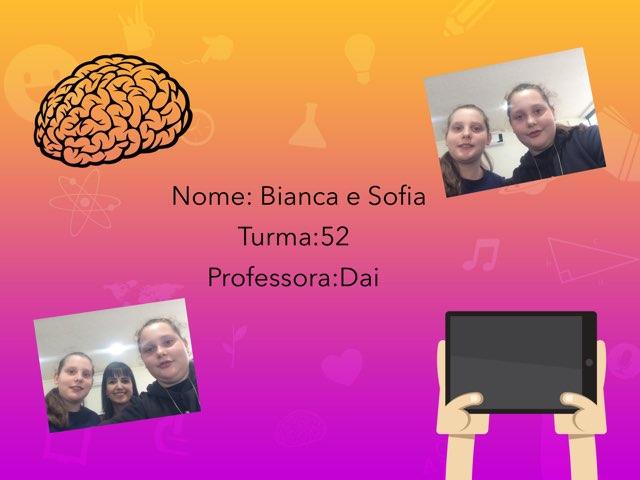 Bianca E Sofia by Rede Caminho do Saber