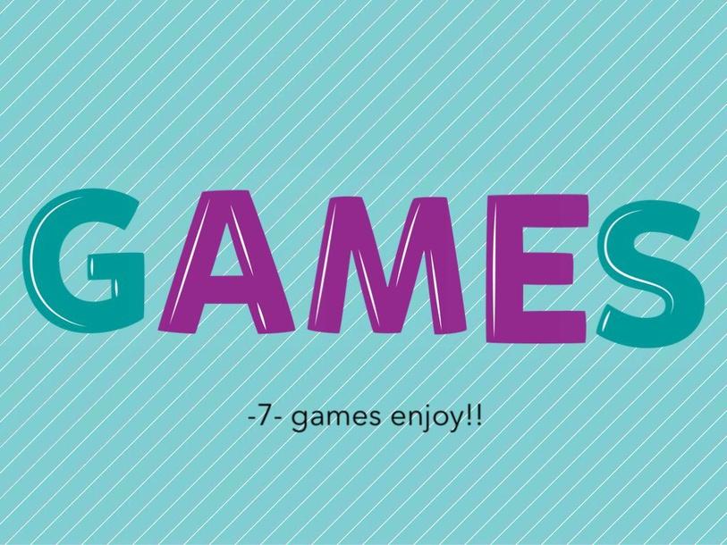 Random Games by Sukainah 77
