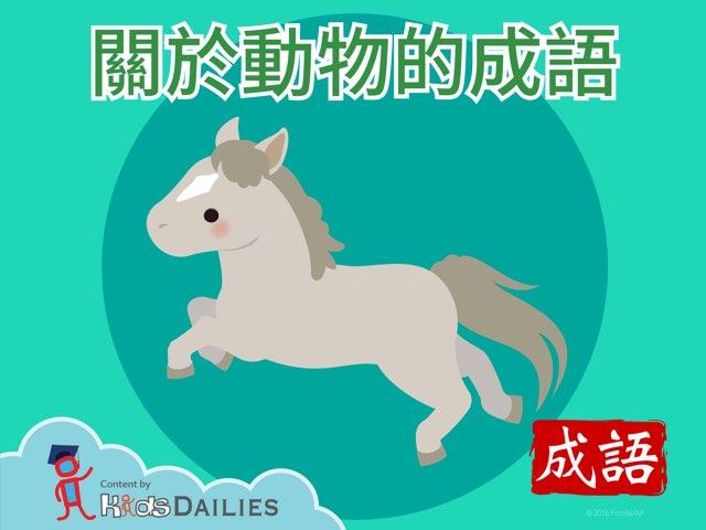 齊來學成語(一) by Kids Dailies