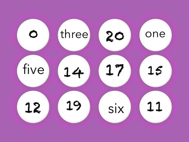 Number Word And Symbol Recognition by Andrea Pereira