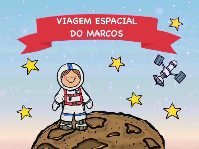 Viagem espacial do Marcos by Elisa Maria