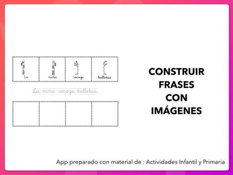 Construir Frases Con Imágenes  by Zoila Masaveu