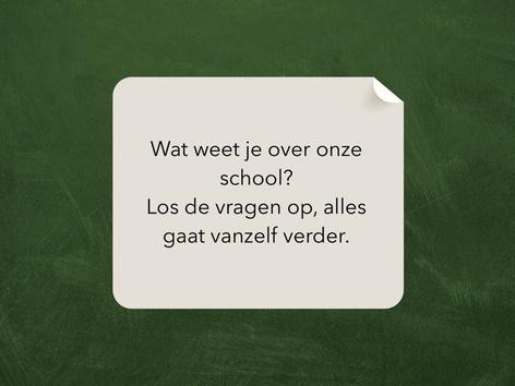 Escape Room Vragen Van Onze School by Juf kim Giraf