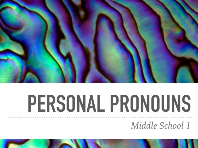 M1-wow-personal pronouns-test by Teeny Tiny TEFL
