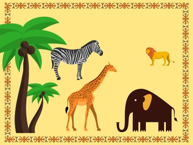 Geluiden Afrikaanse Dieren by Ilse de Vente