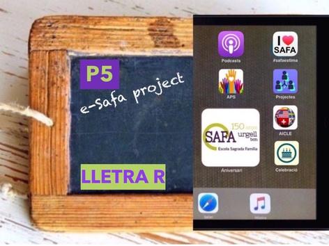 Lletra R Pal by Sagrada Familia c/urgell