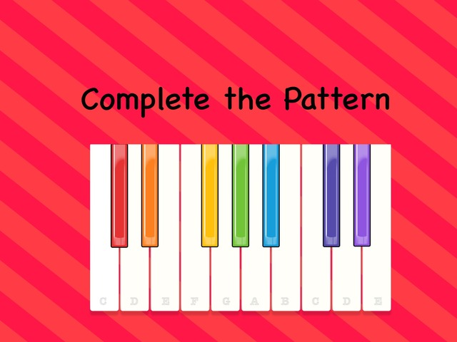Complete The Pattern  by Kathy Gordon