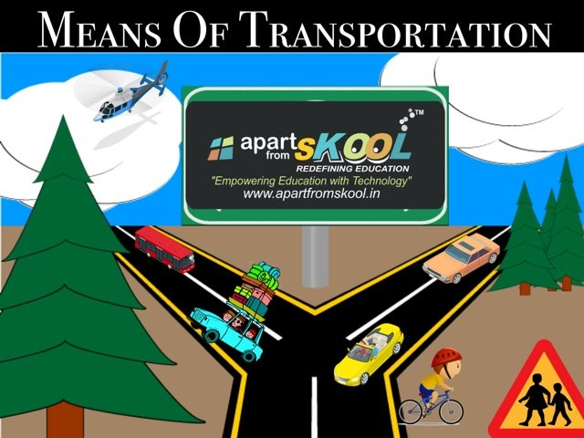 Means Of Transportation  by TinyTap creator