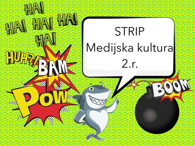 Strip, 2.r. by natasa delac