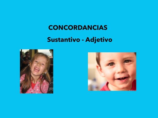 Concordancias Sustantivos - Adjetivos by Francisca Sánchez Martínez