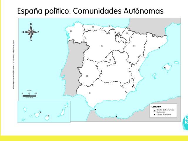 CLdv Capitales de España by Mónica C G