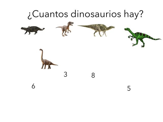 Contar Dinosaurios by TinyTap creator