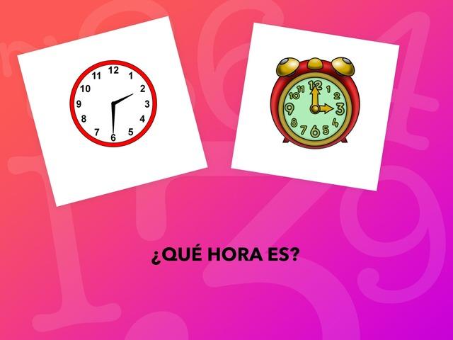 Decir La Hora by Francisca Sánchez Martínez