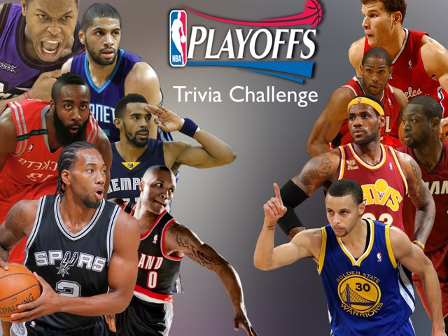 NBA Playoffs Trivia Challenge by Ely Eastman
