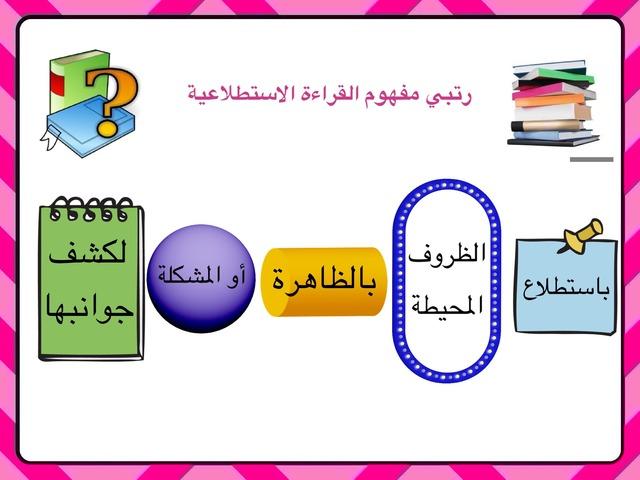 القراءة الاستطلاعية by احلام الغفاري