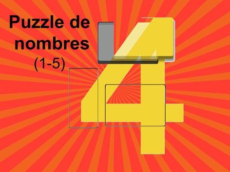 Puzzle De Nombres (1-5) by Mr. Puzzlez