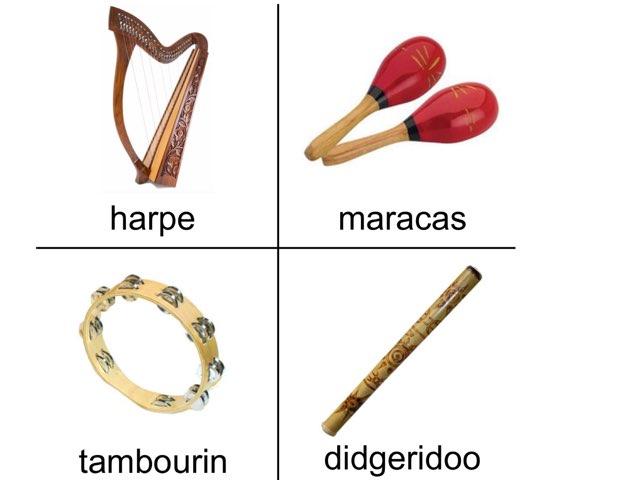 Les Instruments De Musique by Karine Gasselin