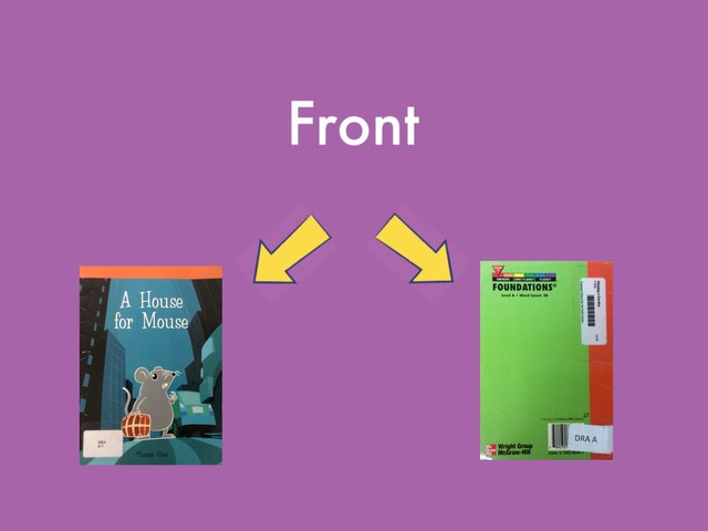 Front Or Back — Text Only by TSD Library