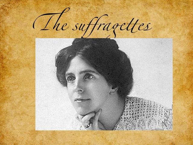 Allenas Suffragette Game  by Childer Thornton