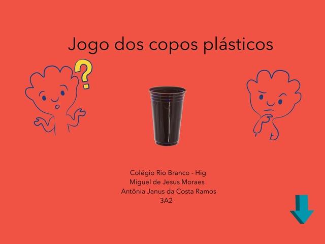 3A2 Miguel e Antônia Copos Plásticos  by Laboratorio Apple CRB Higienop