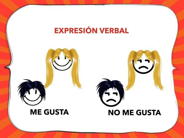 Expresión verbal: Me gusta. No me gusta by Francisca Sánchez Martínez