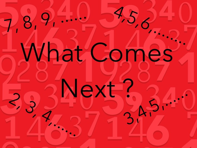 What Comes Next? by Sonia Landers