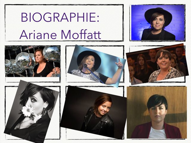 Ariane Moffatt by Tyrsh Ryan