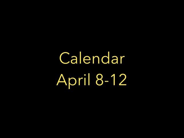 Calendar by Ally T