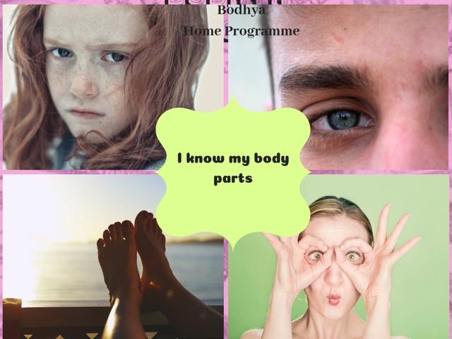 I Know  Body Parts by Lavanya Sriram